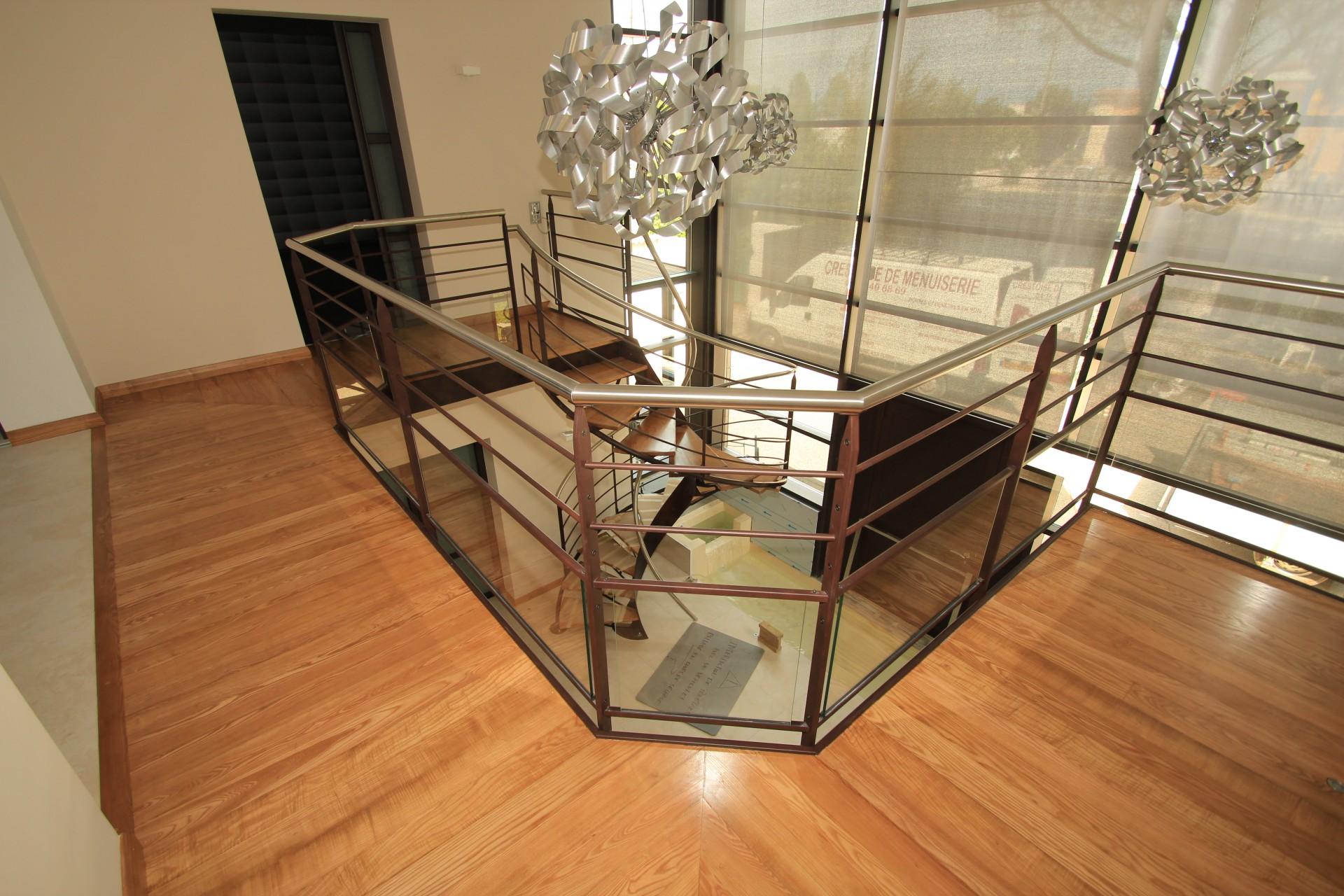 escalier menuiserie la crestoise